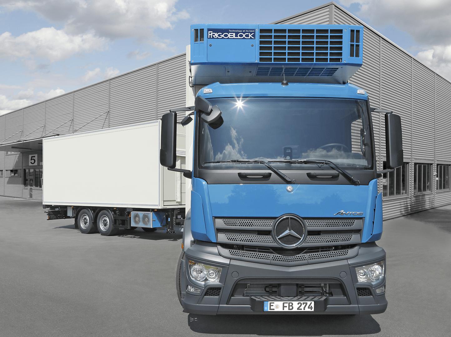 Michael Ward Limited FRIGOBLOCK transport refrigeration unit