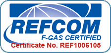 REFCOM F-Gas Certified Logo Michael Ward Limited
